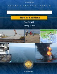 Multiyear Training and Exercise Plan - Governor's Office of ...