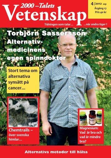 2000-Talets Vetenskap Nr 4 / 2012 - Kostdemokrati