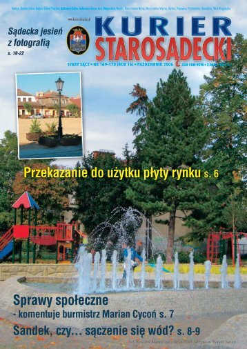 nr 169/170 październik 2006 - Kurier Starosądecki