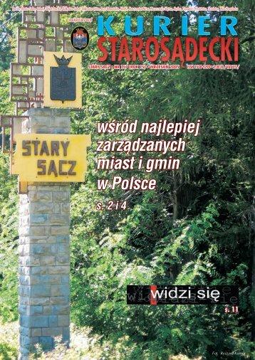 nr 157 wrzesień 2005 - Kurier Starosądecki