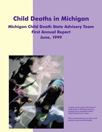 Child Deaths in Michigan - The National Center for Child Death ...
