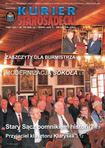 nr 189 marzec 2009 - Kurier Starosądecki