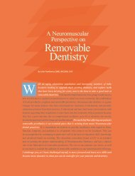 Removable Dentistry