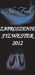 zaproszenie sylwester 2012