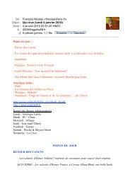Qui-vive (lundi 4 janvier 2010) - egalite68.fr
