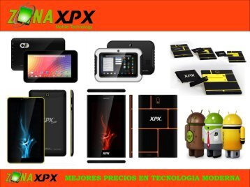 Zona XPX TABLETS CATALOGO