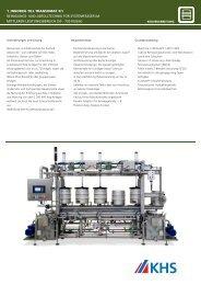 1_innokeg till transomat 3/1 reinigungs - KHS Publishing Tool