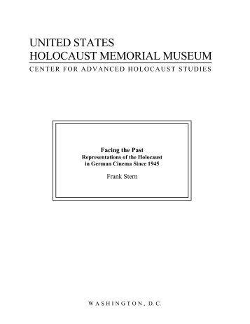 Facing the Past - United States Holocaust Memorial Museum