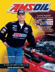 Casual Apparel & Promotional Items - AMSOIL Synthetic Motor Oil