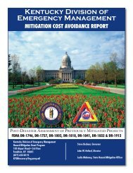 Mitigation Cost Avoidance Cover_Layout 1 - Kentucky Emergency ...