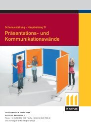 Präsentations- und Kommunikationswände - innverlag