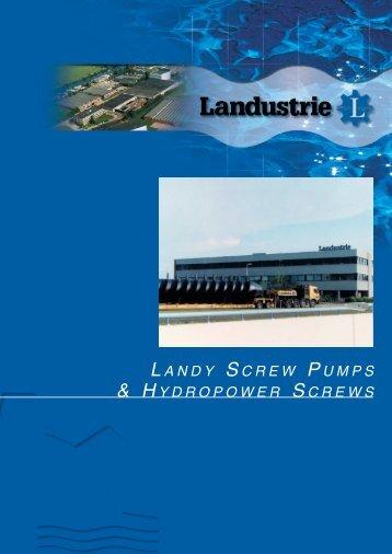 landy screw pumps - Landustrie