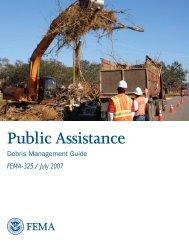 Public Assistance Debris Management Guide - Federal Emergency ...