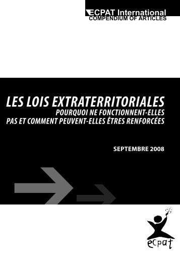 LES LOIS EXTRATERRITORIALES - Ecpat France
