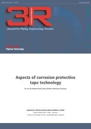 Aspects of corrosion protective tape technology - DENSO