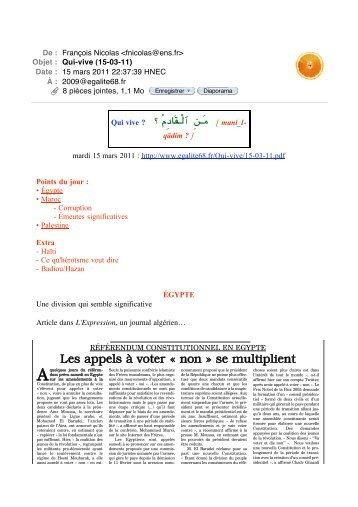 15 mars - egalite68.fr