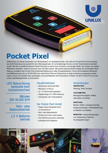 Pocket Pixel - Gs-paperparts GmbH