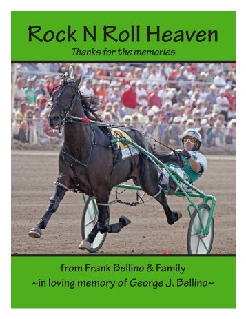 Rock N Roll Heaven - United States Harness Writers Association