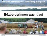 Präsentation (pdf - Endlager für Atommüll: G20, die 20 Gemeinden ...