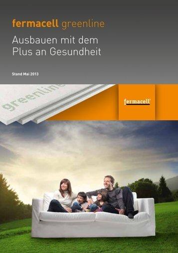 fermacell greenline Ausbauen mit dem Plus an ... - ausbau-schlau.de