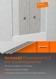fermacell Powerpanel H2O mit ... - ausbau-schlau.de