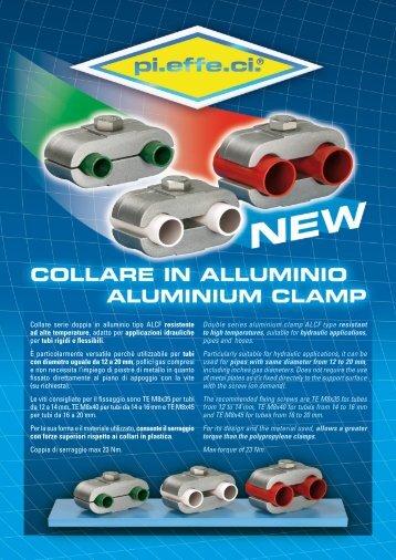 Collare serie doppia in alluminio tipo ALCF resistente ... - PI.EFFE.CI