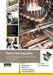 Parker One Pneumatik - Die Hypneu Gruppe