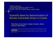 Scientific Base for Determination of Nitrate Vulnerable Zones in ...