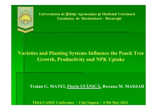Varieties and Planting Systems Influence the Peach Tree Growth ...