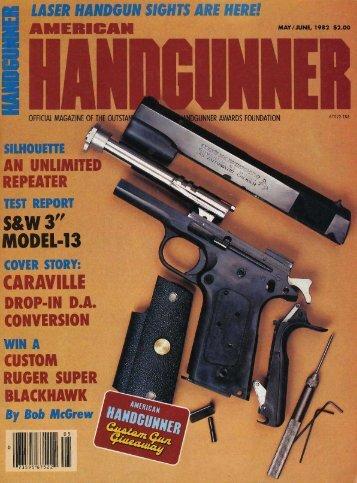 May/June 1982 - American Handgunner