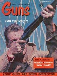 GUNS Magazine December 1961 - Jeffersonian
