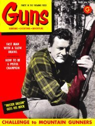 GUNS Magazine July 1959