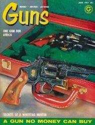 GUNS Magazine June 1961