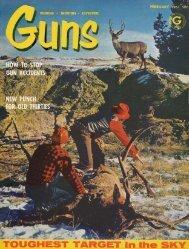 GUNS Magazine February 1961