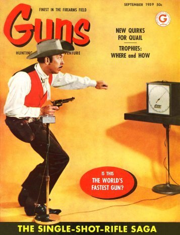 GUNS Magazine September 1959