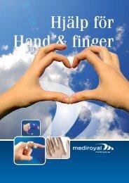 Hjälp för Hand och Finger (PDF) - Mediroyal