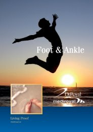Foot & Ankle - Mediroyal