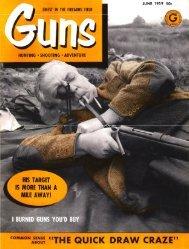 GUNS Magazine June 1959 - Jeffersonian