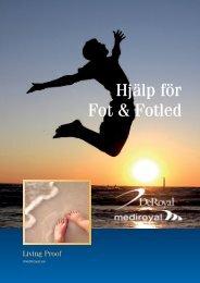 Hjälp för Fot & Fotled - Mediroyal