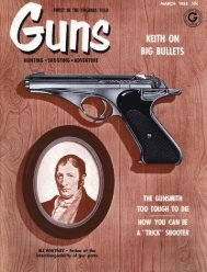 GUNS Magazine March 1958 - Jeffersonian