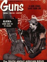 GUNS Magazine June 1957