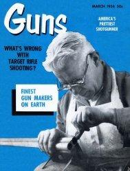GUNS Magazine March 1956 - Jeffersonian