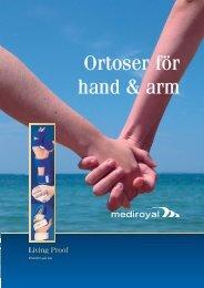 Ortoser för hand & arm - Ortosupport