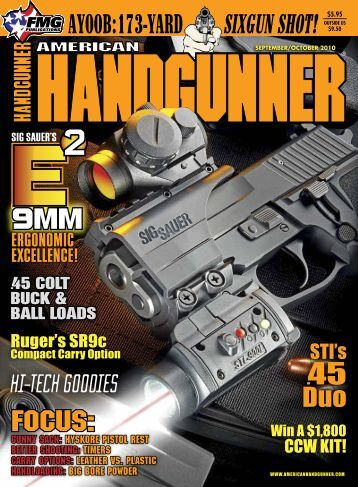 American Handgunner September/October 2010 - Jeffersonian
