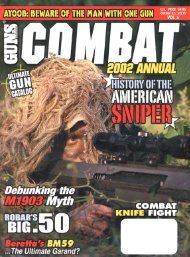2002 Guns Combat Annual - Jeffersonian