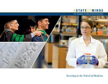Learn More - WVU School of Medicine - West Virginia University