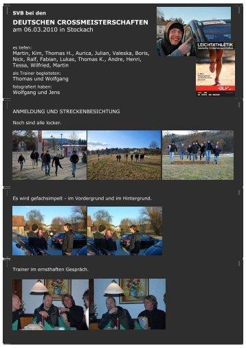 Bericht - SVB Leichtathletik