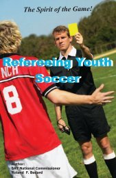 Refereeing Youth Soccer - SAY Soccer