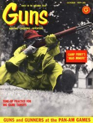 GUNS Magazine October 1959 - Jeffersonian