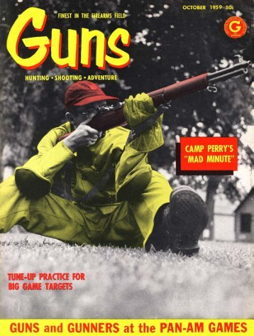 GUNS Magazine October 1959 - Jeffersonian